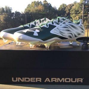 Brand New UA team nitro Low D | white / green